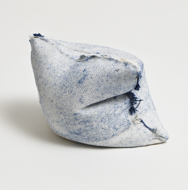 03 Pocket 32, 2013, plaster, 7 x 10 x 8 cm, one from on going series, photo Michael Brzezinski